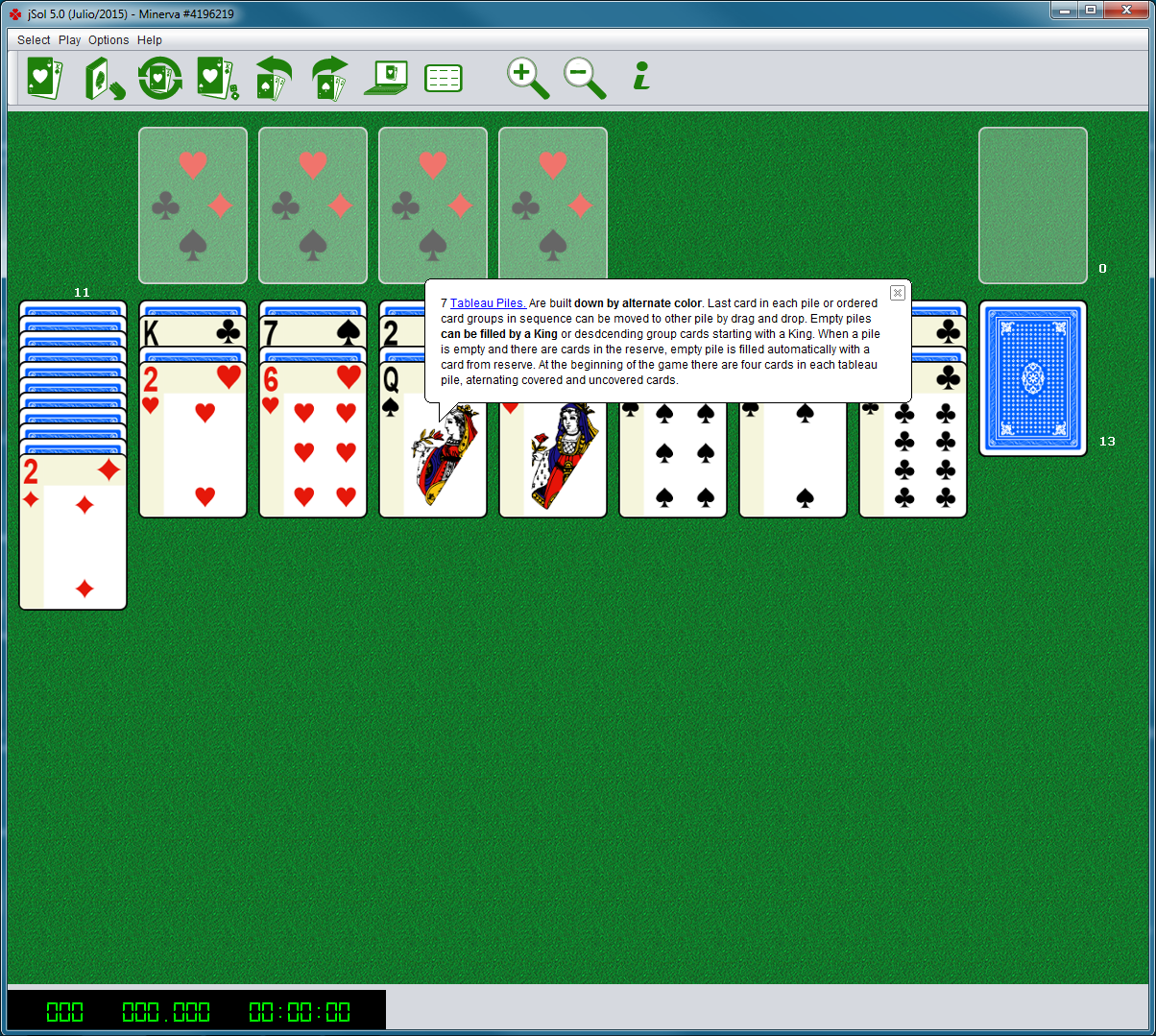 Screenshot of jSol for PC